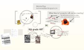 14-15 Intro to 8th grade ART