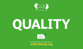 The Economical Benefits of Quality