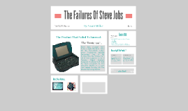 The Failures Of Jobs