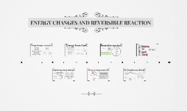 ENERGY CHANGES AND REVERSIBLE REACTION