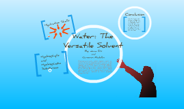 Water: The Versatile Solvent