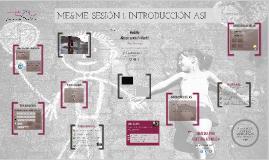 ME&ME, Sesión1 (Definición e indicios)