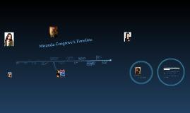 Miranda's Cosgrove Timeline