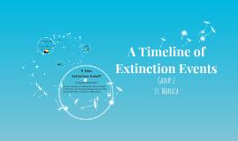 A Timeline of Extinction Events