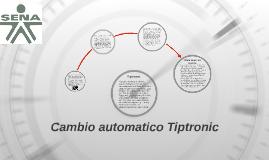 Cambio automatico Tiptronic
