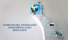 Copy of FASES DE UNA PRODUCCIÓN AUDIOVISUAL