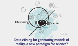 Data Mining for generating models of reality, a new paradigm