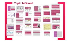 Topic 14 Sound