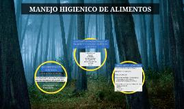 MANEJO HIGIENICO DE ALIMENTOS EN MERCADOS