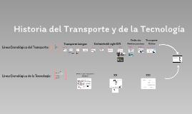 Tema 13:  Histori del transporte y de la tecnologis