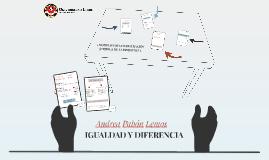 IGUALDAD Y DIFERENCIA