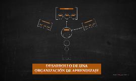 DESARROLLO DE UNA ORGANIZACIÓN DE APRENDIZAJE