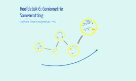 Copy of Samenvatting Hoofdstuk 6: Goniometrie