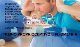 TREINO PROPRIOCEPTIVO E PLIOMETRIA