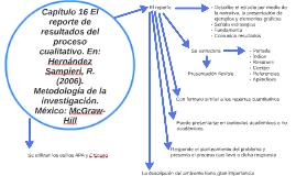 Copy of Capítulo 16 El reporte de resultados del proceso cualitativo