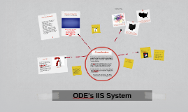 ODE's IIS System