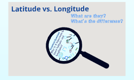 Copy of Latitude vs Longitude