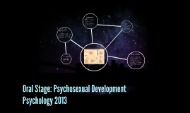 oral stage of psychosexual development