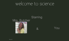 Welcome to Science
