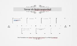 Terror als Regierungsmittel