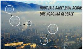 ndotja e ajrit , shiu acidik dhe ngrohja globale