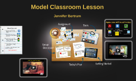 Sample class flow with iPad