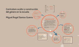 Curriculum oculto y construcción del género en la escuela