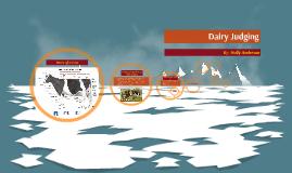 Copy of Dairy Judging