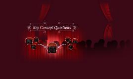 Key Concept Questions