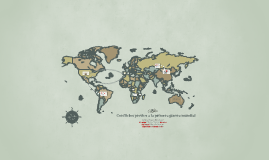 Copy of Conflictos previos a la primera guerra mundial