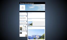 Energy Conserversion
