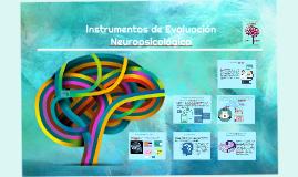 Copy of Instrumentos de Evaluación Neuropsicológica