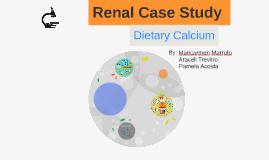 Renal Case Study