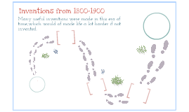 Inventions from 1800 to 1900