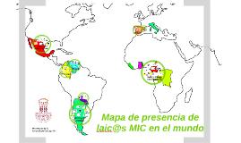 Mapa de presencia de