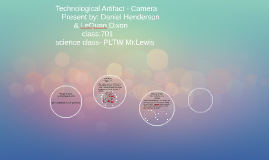 Technological Artifact - Camera