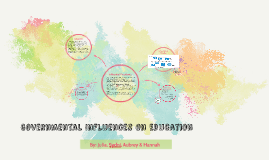 Governmental Influences On Education