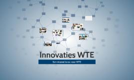 Innovaties WTE