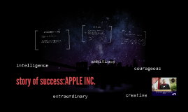 story of success:APPLE INC.
