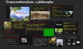 Transcendentalism and Henry David Thoreau