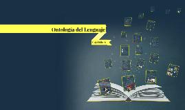 Copy of Ontología del Lenguaje