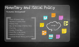 Copy of Monetary and Fiscal Policy
