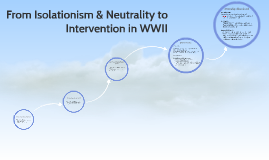 From Neutrality to Intervention in WWII