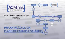 IMPLANTAÇÃO DE PLANO DE CARGOS E SALÁRIOS