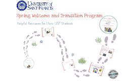 Spring 2014 Welcome and Transition Program