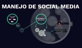 MANEJO DE SOCIAL MEDIA