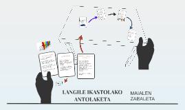 LANGILE IKASTOLAKO ANTOLAKETA