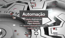 Autómatos Programáveis e Aplicações