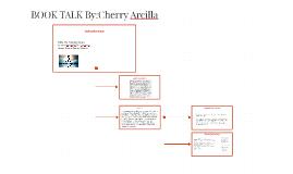 BOOK TALK By:Cherry Arcilla