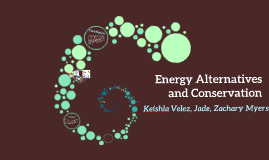 Copy of Energy Alternatives and Conservation
